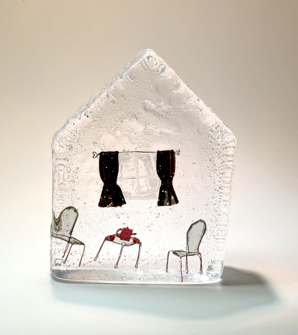 Time for Tea   Glass & Wire   14.5 x 3 x 11 cm 0.85kg   £295