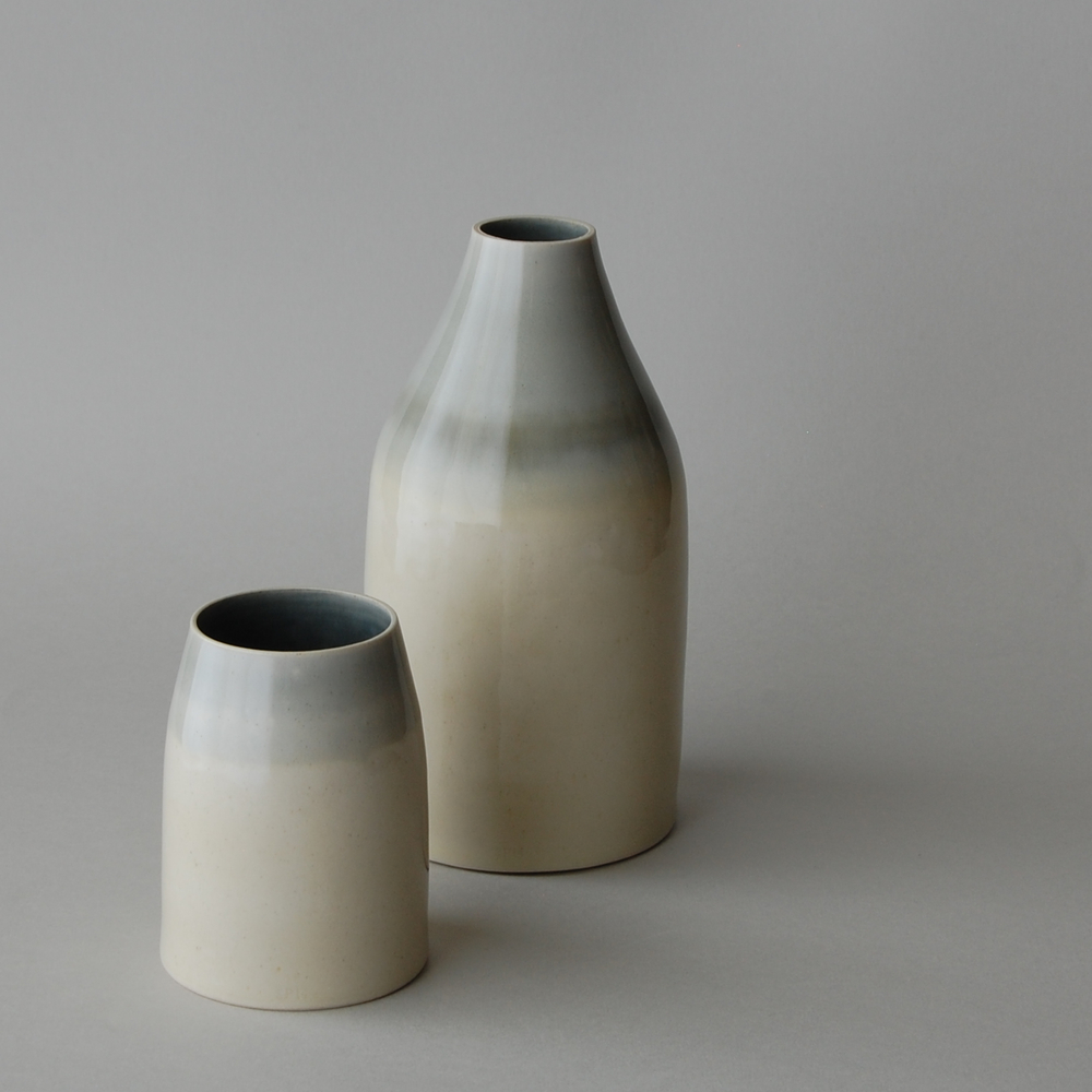 Cylinder and Bottle ceramic