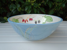 Rosehip Pale Blue Bowl  Ceramic £84