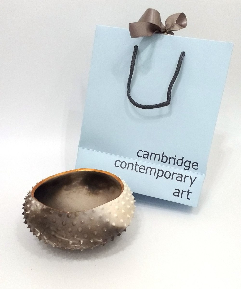Katie Pruden Medium Spiky Pebble Pot £70