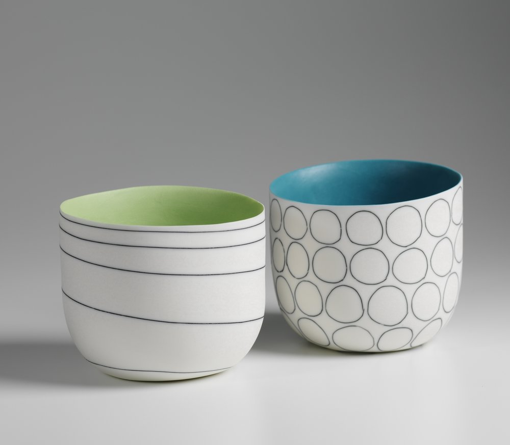 Lara Scobie Lime Bowl £220 Circle Bowl £220