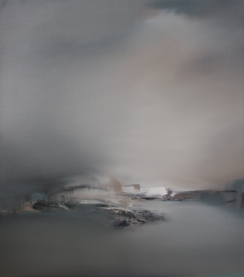 River Grey  Oil on Linen  81x71cm  SOLD