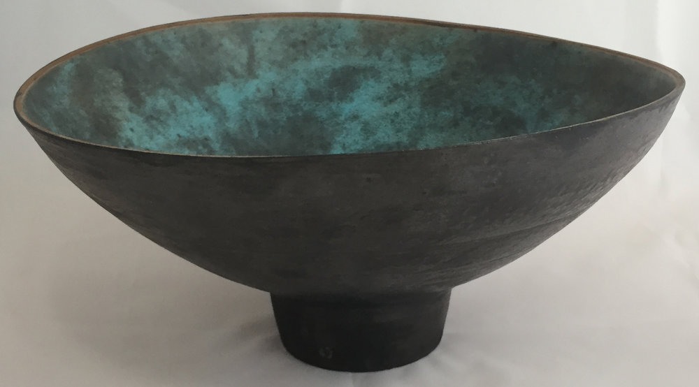 Footed Altered Bowl Stoneware  £300