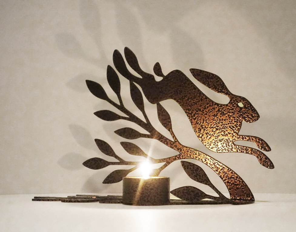 Ruth Molloy Hare Tea Light £45