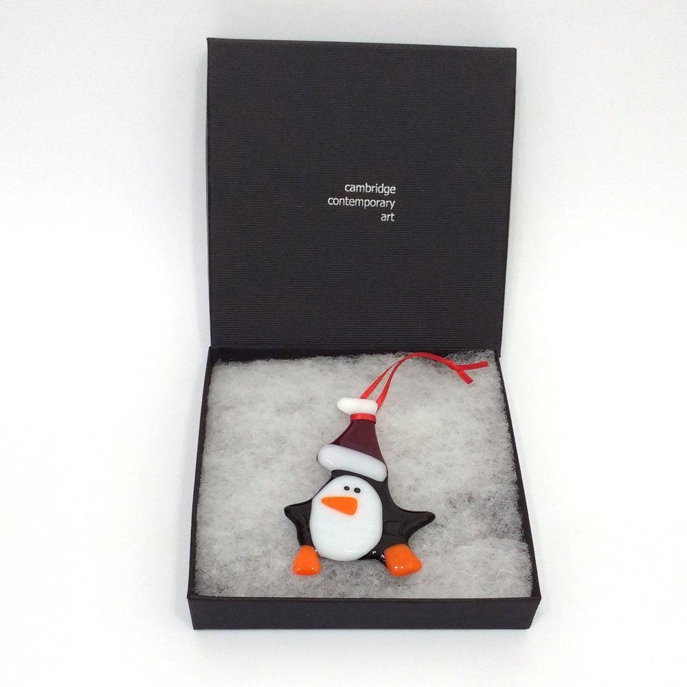 Siobhan Jones Penguin Decoration £15