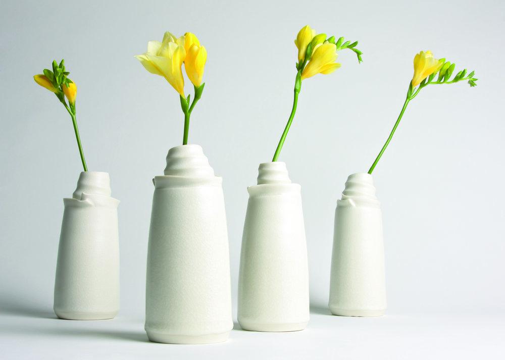 Vivien Vases porcelain
