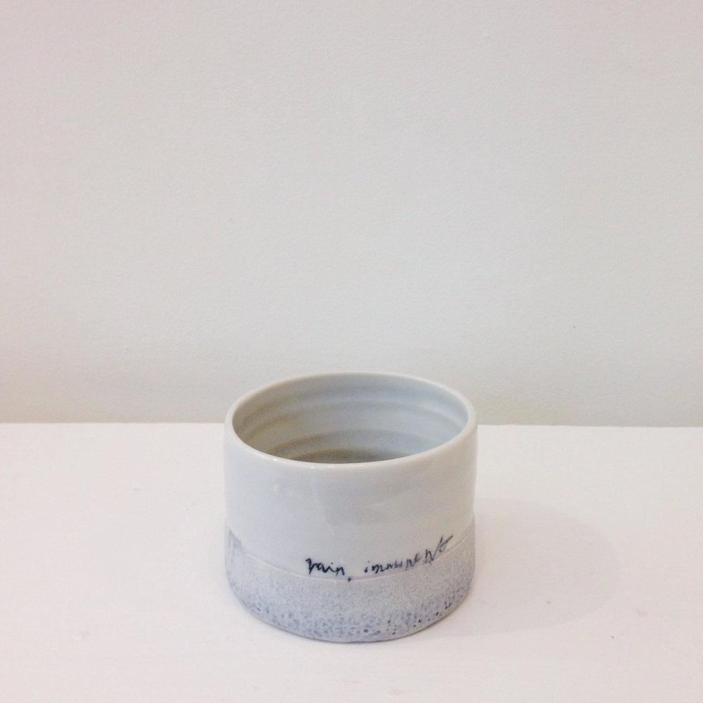 Rain Imminent Vessel £62 ceramic