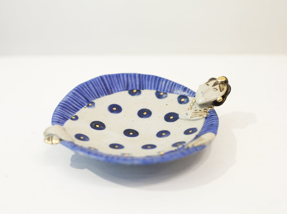 Helen Martino Shy Dishy Lady £75 ceramic