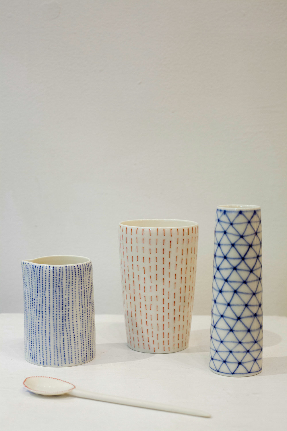Tamsin Arrowsmith Brown Vessels £17-£60 bone china