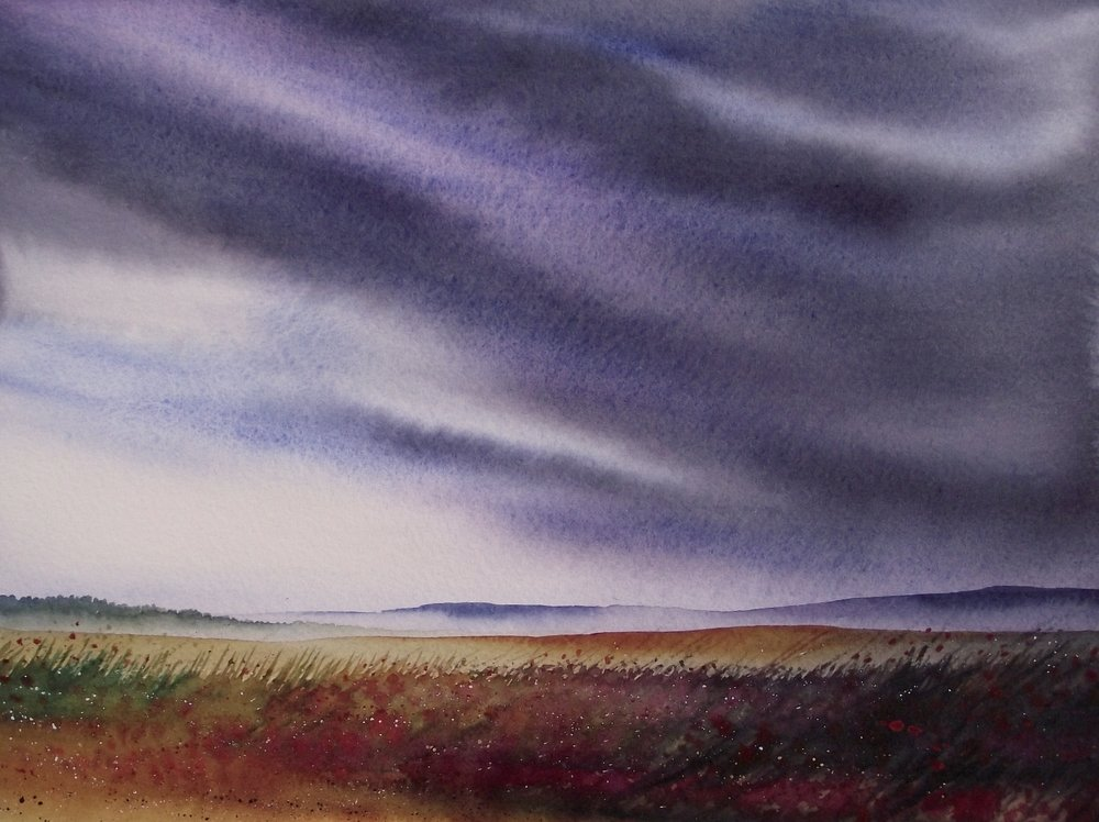 Culloden watercolour SOLD