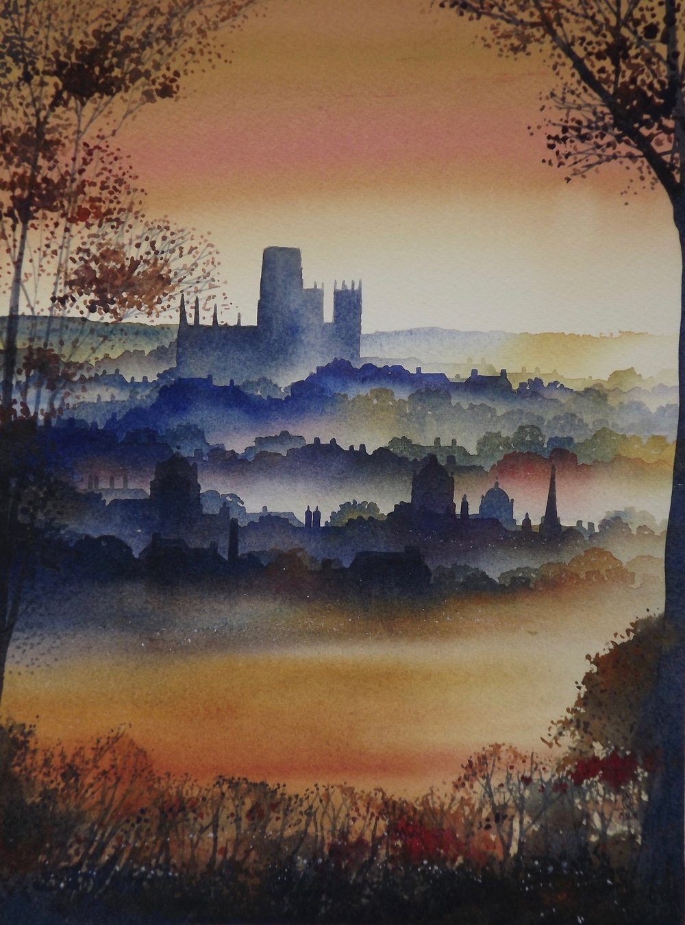 Durham watercolour SOLD