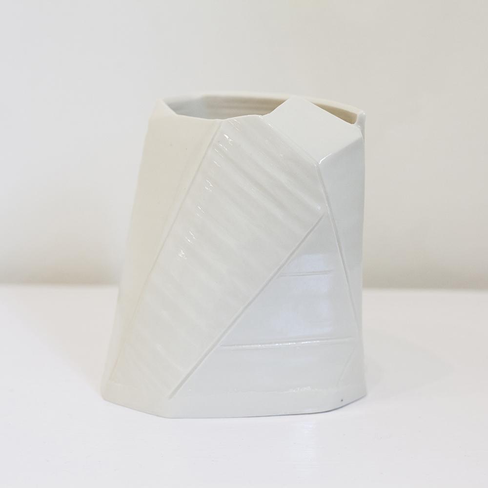 Constructed Vase Porcelain 17x14cm £750