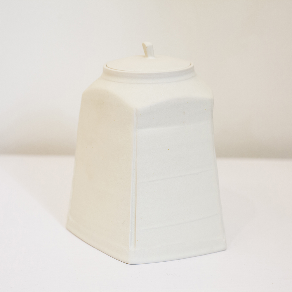 Medium Lidded Jar Porcelain 16x14cm £600