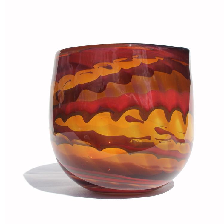 Medium Lamella Vase 19cm x 19cm x 17cm £305