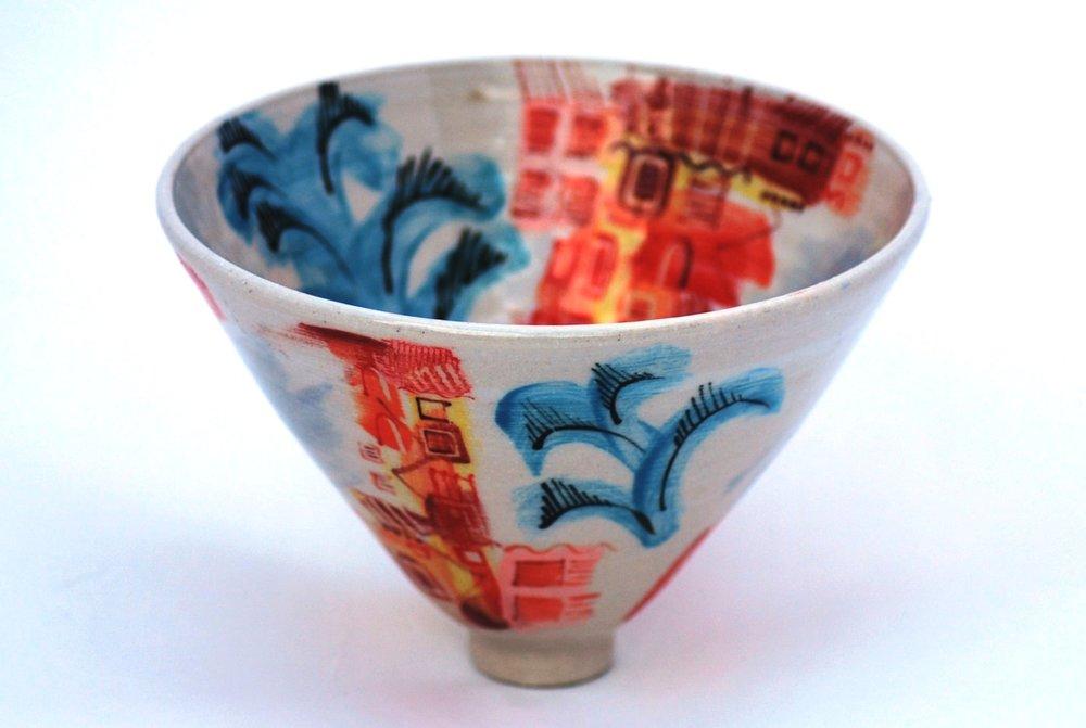 Ischia Pot #4 ceramic h13 x w18.5 cm £120