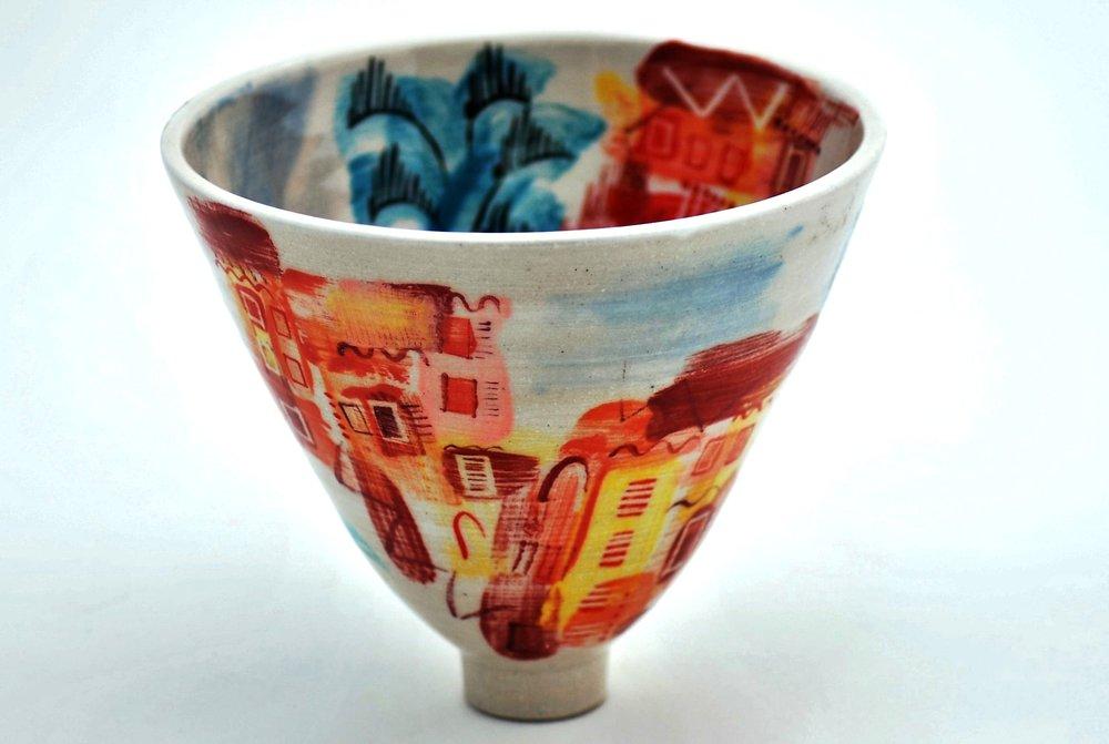 Ischia Pot #7 ceramic h14 x w16.5 cm £120