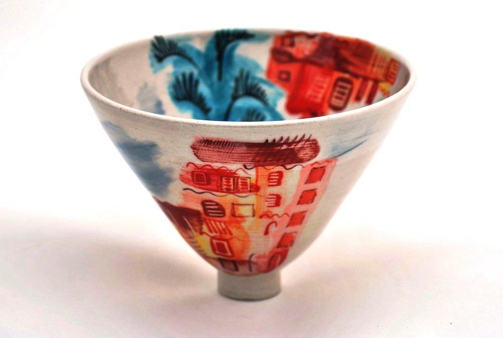 Ischia Pot #6 ceramic h12 x w18 cm £120