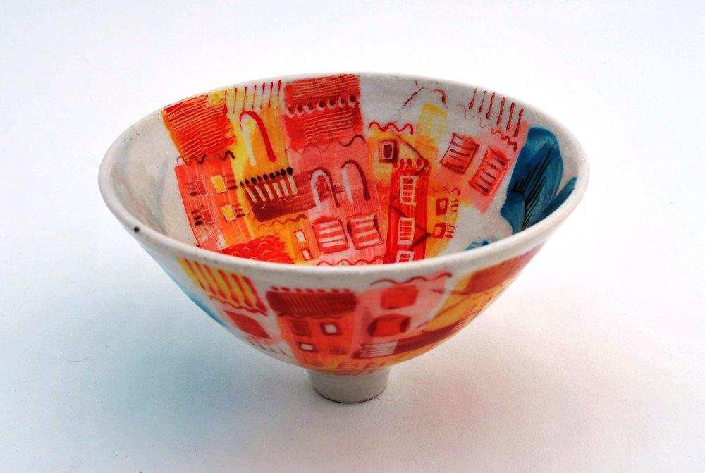 Ischia Pot #20 ceramic h9 x w16 cm £60