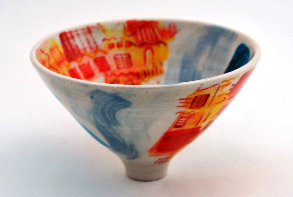 Ischia Pot #29 ceramic h9.5 x w16 cm £60