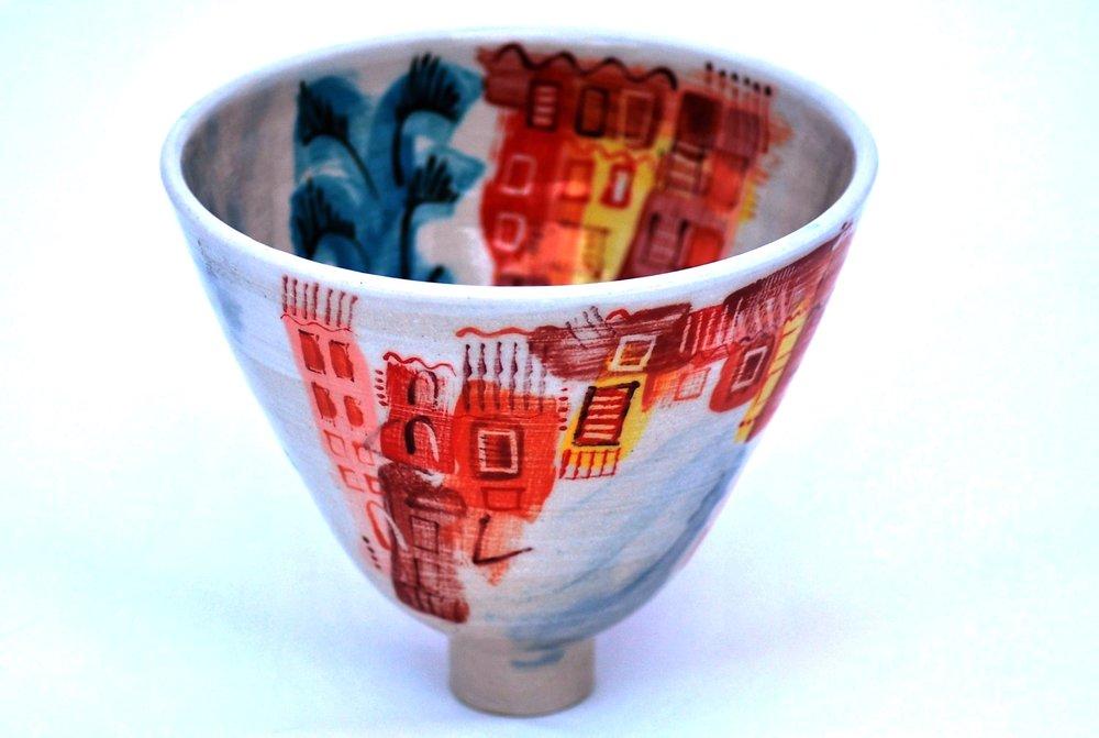 Ischia Pot #2 ceramic h15 x w17 cm £120