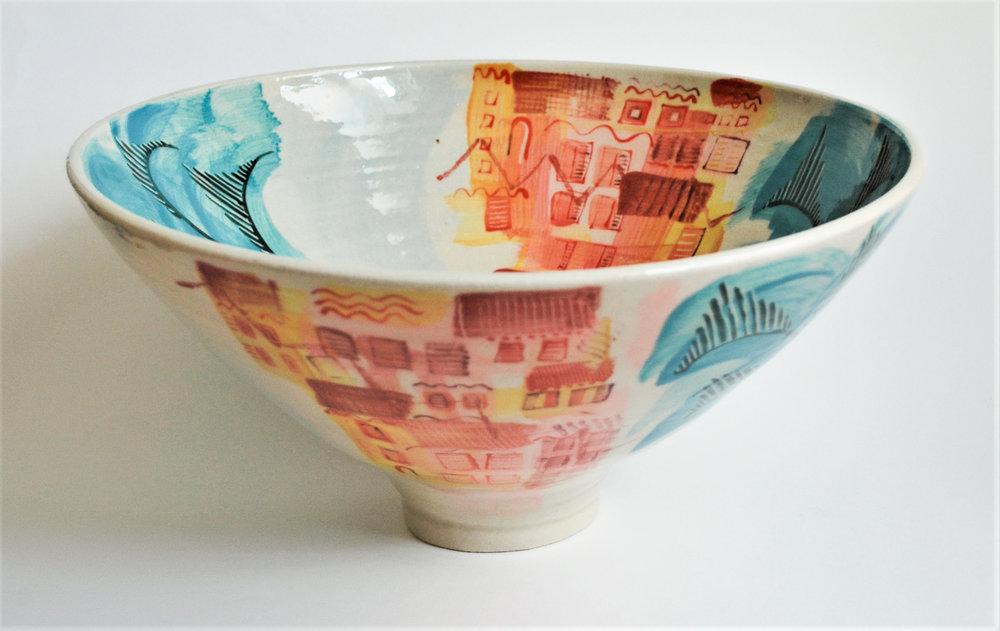 Ischia Pot #24 ceramic h31.5 x 15.5 cm £400