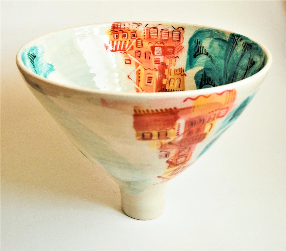 Ischia Pot #9 ceramic h28cm x w22cm £400