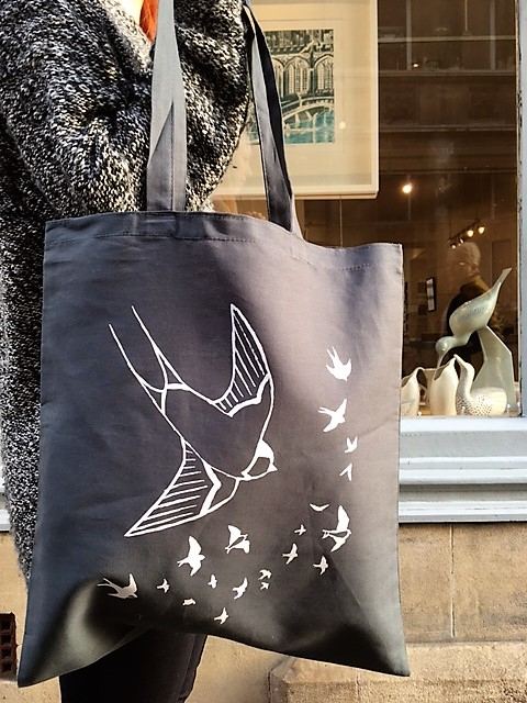 Swallow Tote Bag