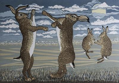 Linda Richardson   March Hares