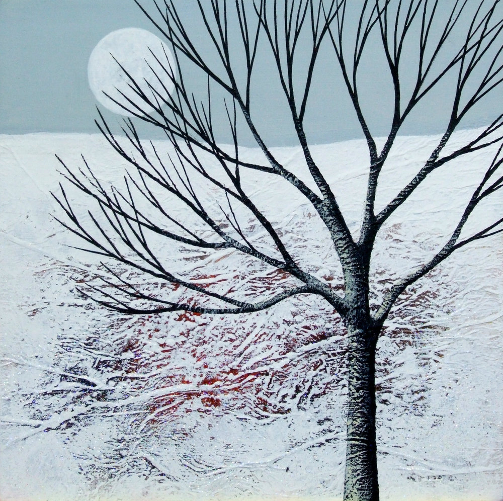 Deborah Burrow Winter Moonrise