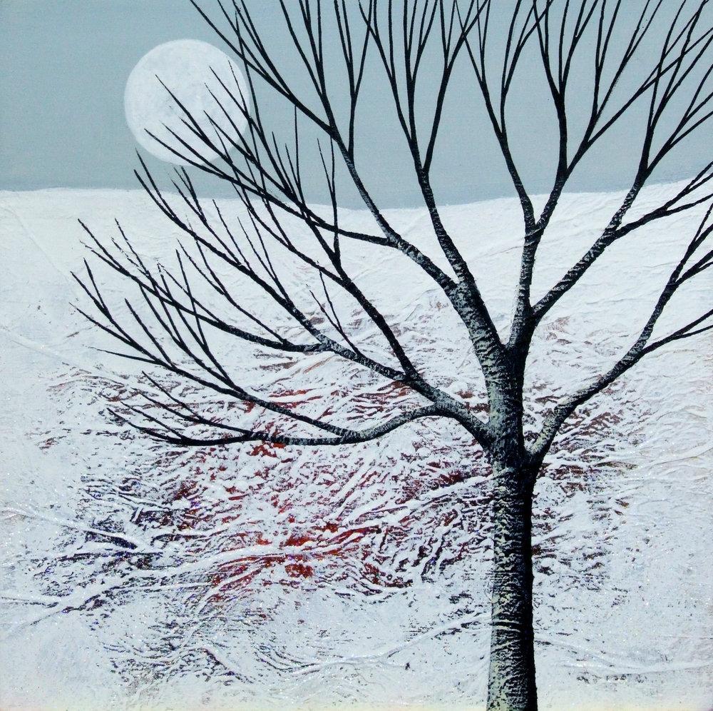 Deborah Burrow   Winter Moonrise