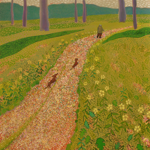 Mychael Barratt Hockney's Dogs