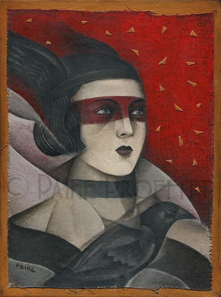 Night's Watch  acrylic on canvas  30x40cm  £450  SOLD