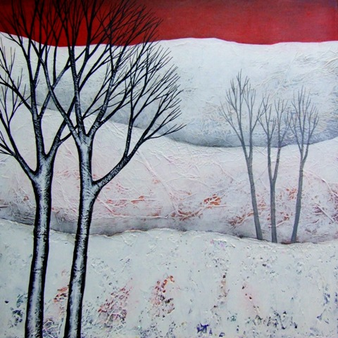 The Magic of Winter II  acrylic  £320  SOLD
