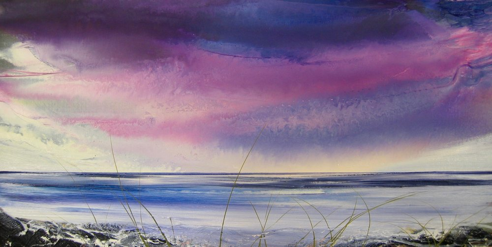 A holkham Dusk 30x90cm oil on canvas.jpg