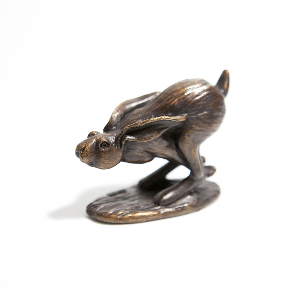 Running Hare  bronze  £80