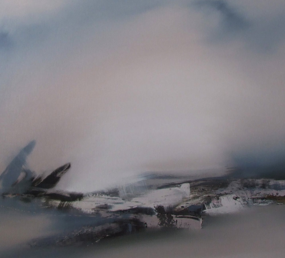 Eastern Horizon  Oil on Linen  71 x 81 cm  £1,100