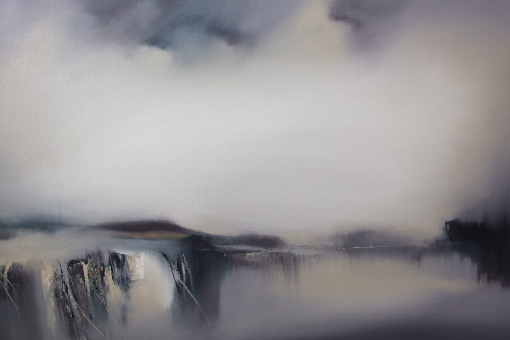 Spindrift  Oil on Linen  91 x 61 cm  SOLD