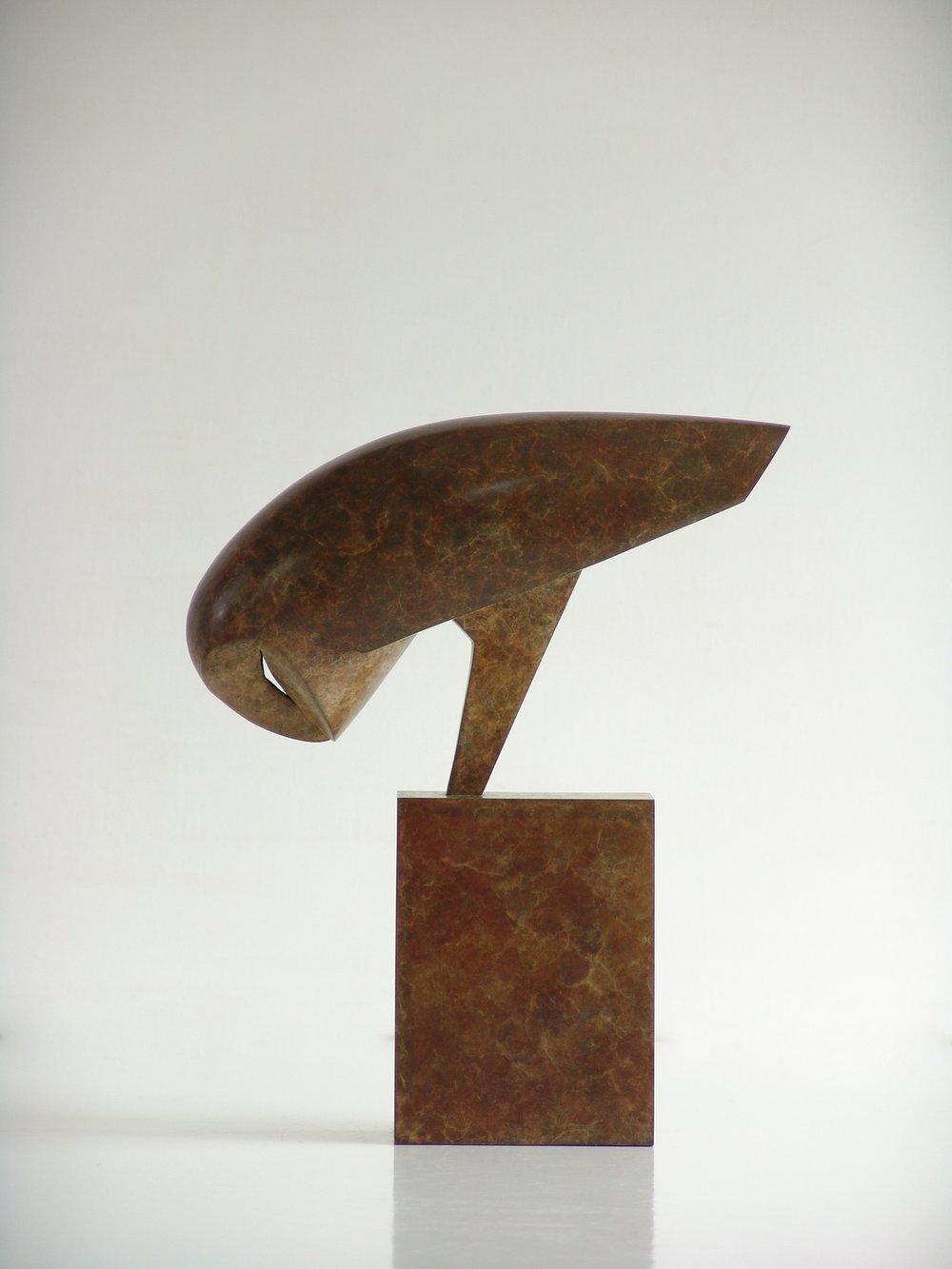 Night Owl  bronze  28 x 24 x 8cm  £4200