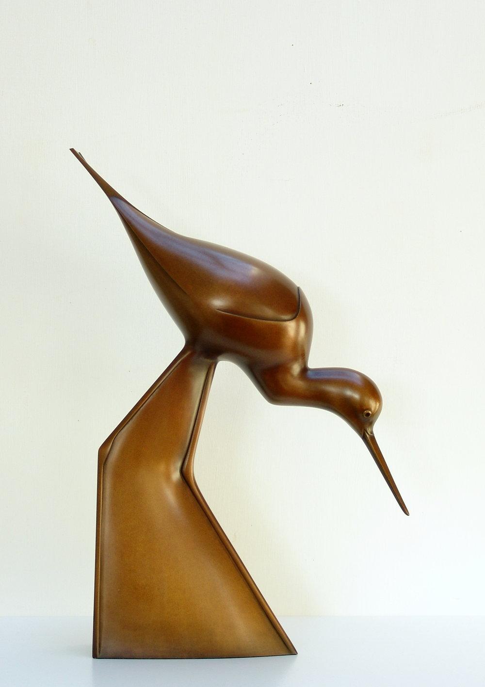 Wading Stilt  bronze  42 x 30 x 9cm  £4900