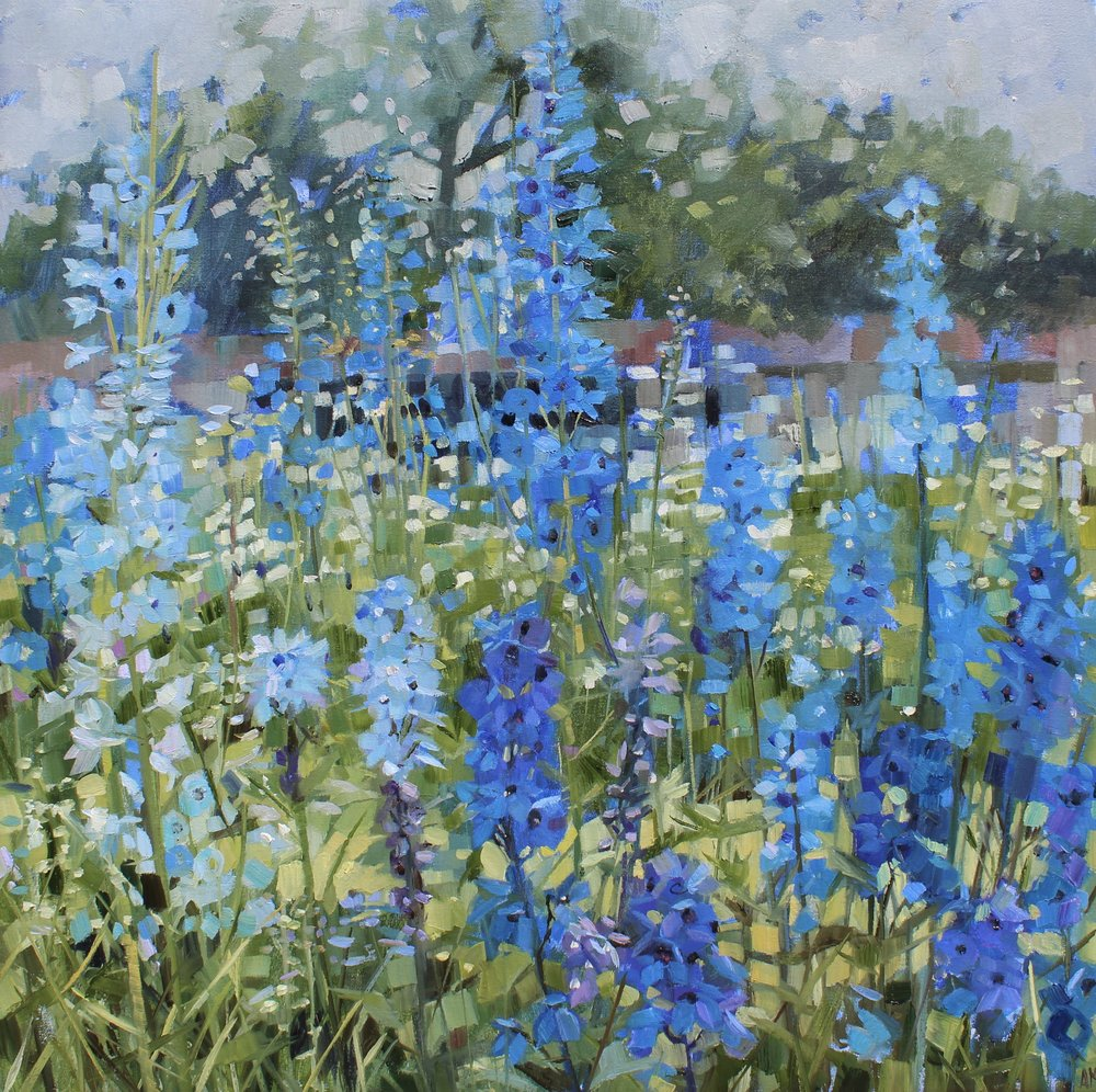 Walled Garden - Delphiniums.jpeg