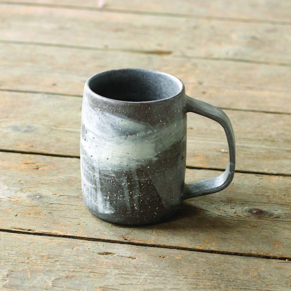Brushed Mug  ceramic  10oz  £32