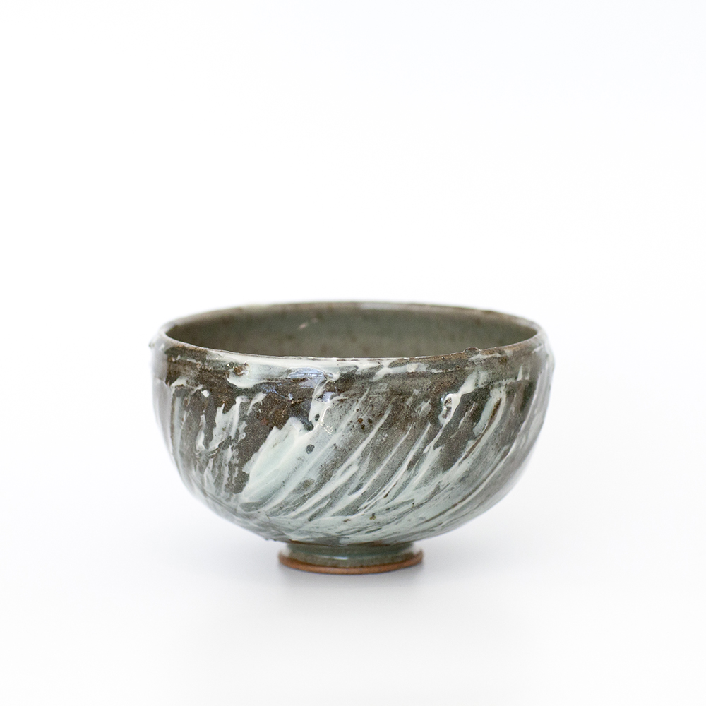 Small Bowl Slip and Porcelain  Ceramic  13cm x 7cm  sold