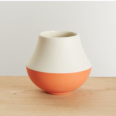 Coral Vase  Ceramic  11 cm x 12 cm  £40