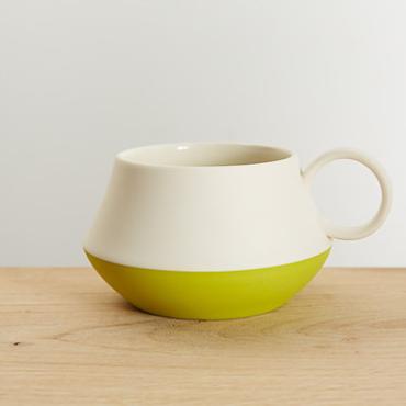 Pistachio Mug  Ceramic  12 cm x 7 cm  £28