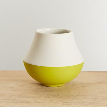 Pistachio Vase  Ceramic  11 cm x 12 cm  £40