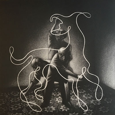 Picasso's Dog II   etching   23 x 23 cm    £220 (unframed)