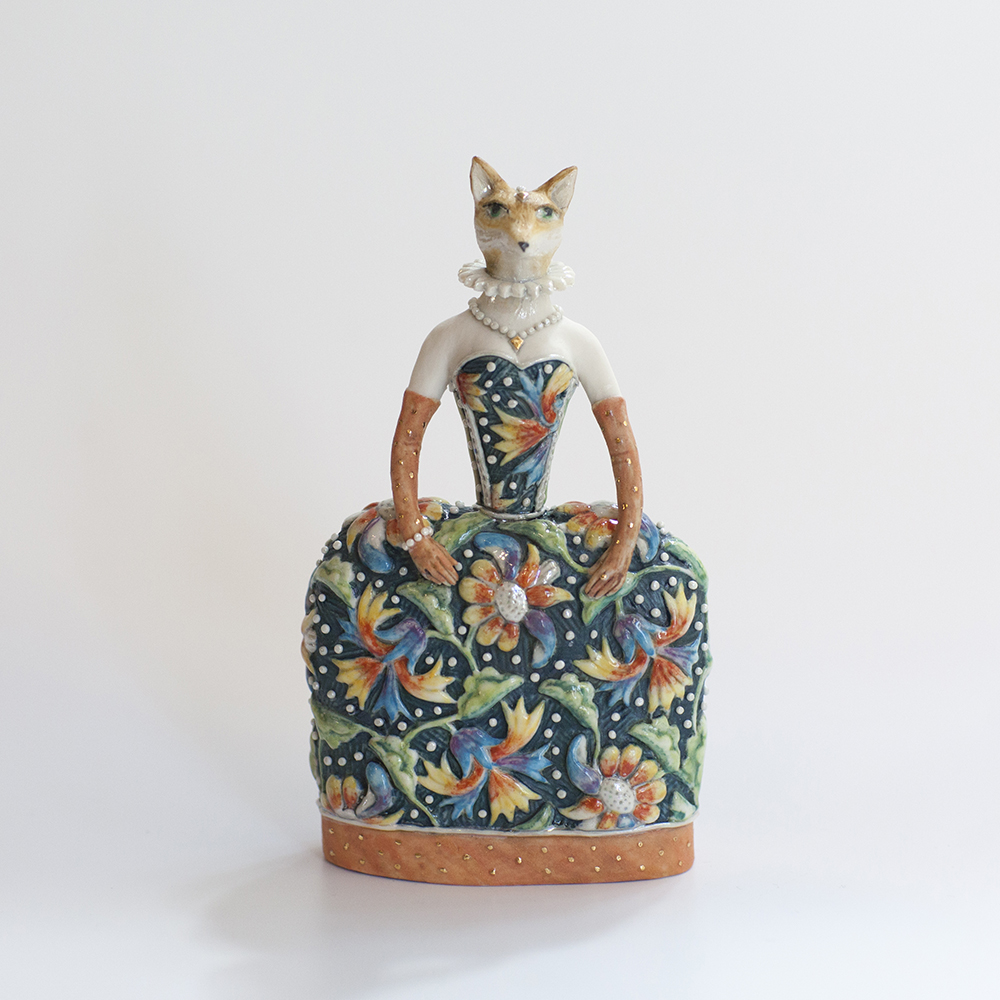 Vixen Bell  ceramic  13x8cm  £185