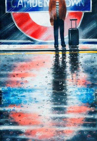 Camden Town  Oil  21 x 15 cm   £495