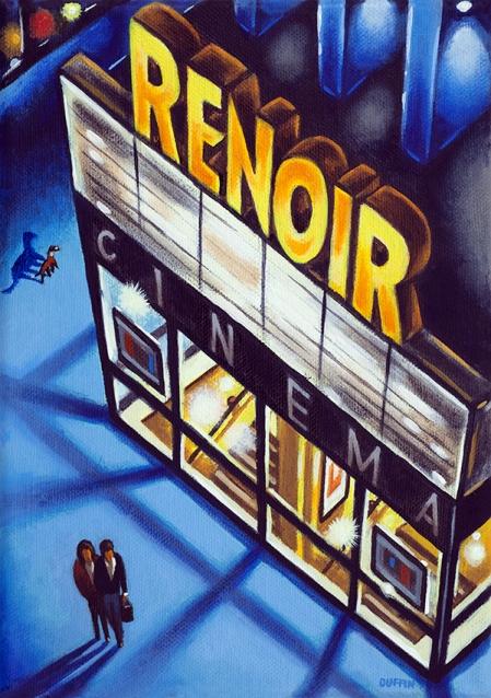 RENOIR (Bloomsbury)  Oil  21 x 15 cm  £495