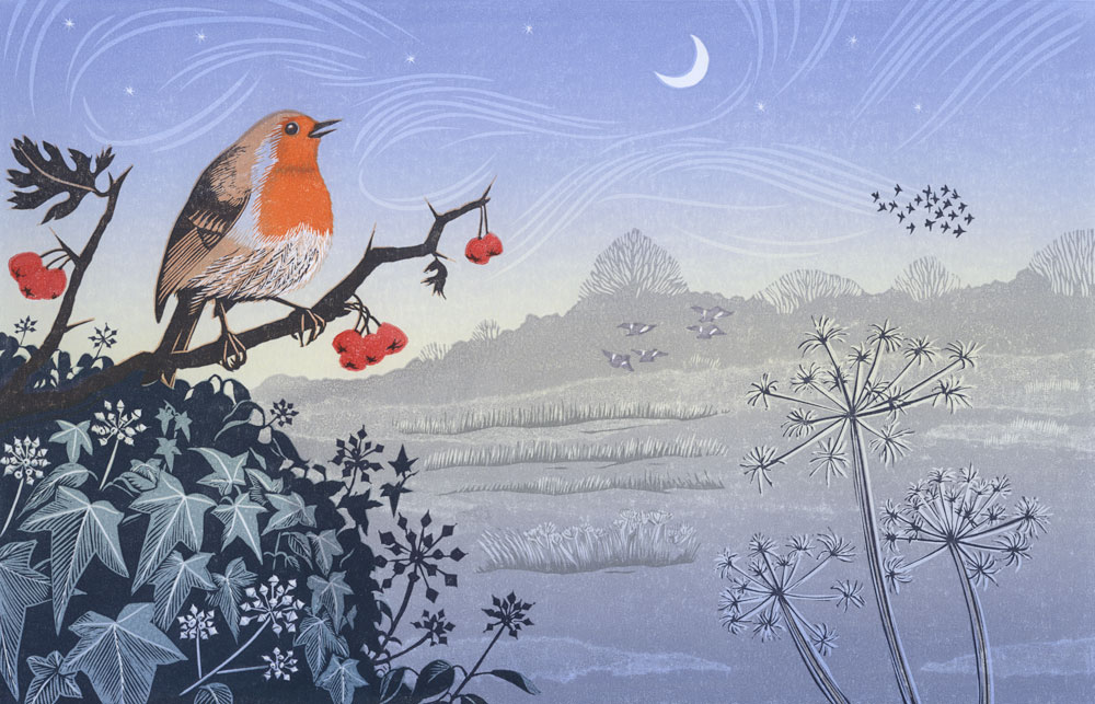 Niki-Bowers-printmaker-original-linocut-print-song-of-the-winter-solstice.jpg
